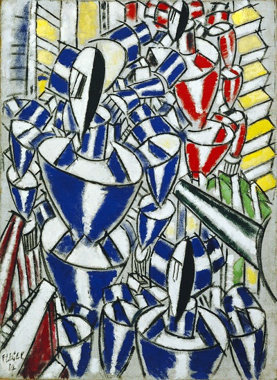 Fernand Leger - Exit the Ballets Russes