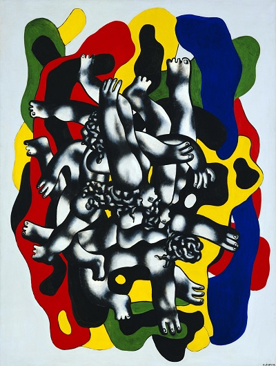 Fernand Leger - The DiversFernand Leger - The Divers
