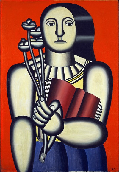 Fernand Leger - Woman with a BookFernand Leger - Woman with a Book