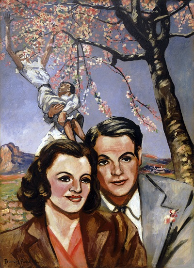Francis Picabia - Portrait of a CoupleFrancis Picabia - Portrait of a Couple