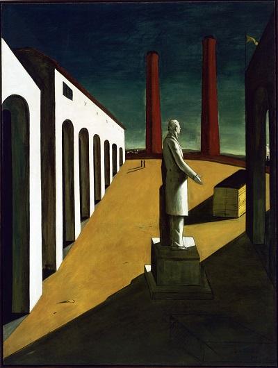 Giorgio de Chirico - The Enigma of a Day-Giorgio de Chirico - The Enigma of a Day
