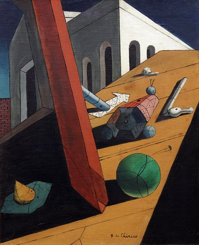 -Giorgio de Chirico - The Evil Genius of a King