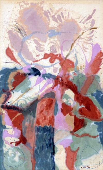 -Helen Frankenthaler - Jacob's Ladder_
