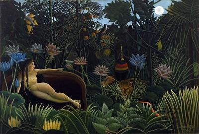 Henri Rousseau - The Dream-Henri Rousseau - The Dream