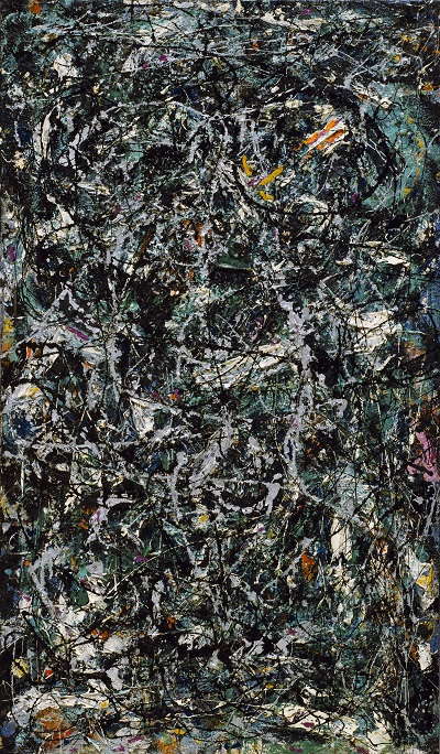 Jackson Pollock - Full Fathom Fiveגקסון פולוק תמונות ציורים של -Jackson Pollock - Full Fathom Five