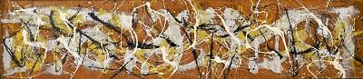 Jackson Pollock - Number 7גקסון פולוק תמונות ציורים של Jackson Pollock - Number 7