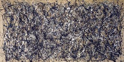 Jackson Pollock - One Number 31גקסון פולוק תמונות ציורים של  Jackson Pollock - One Number 31