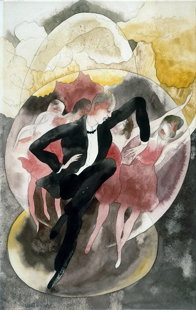 Charles_Demuth,_American - In Vaudeville - Dancer_with_Chorus Charles_Demuth,_American - In Vaudeville - Dancer_with_Chorus