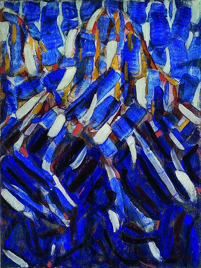 Christian_Rohlfs - Abstraction - the_Blue_Mountain  Christian_Rohlfs - Abstraction - the_Blue_Mountain