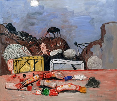 Philip Guston - MoonPhilip Guston - Moon