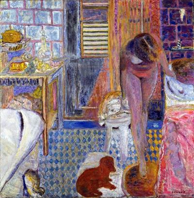Pierre Bonnard - The Bathroom Pierre Bonnard - The Bathroom