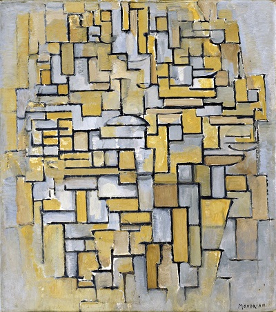 Piet Mondrian - Composition in Brown and GrayGP-ART-1850-Piet Mondrian - Composition in Brown and Gray