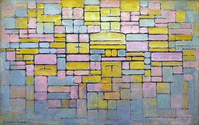 Piet Mondrian - Tableau no. 2