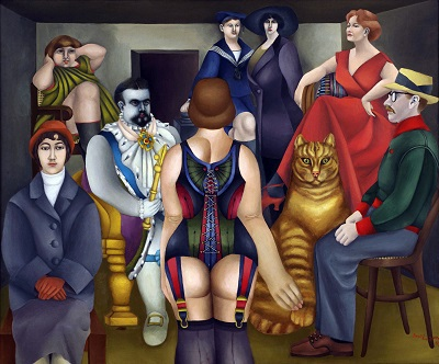 Richard Lindner - The MeetingRichard Lindner - The Meeting