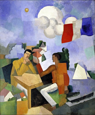 Roger de La Fresnaye - The Conquest of the AirRoger de La Fresnaye - The Conquest of the Air