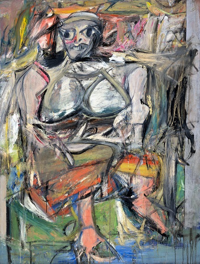 Willem de Kooning - Woman, IWillem de Kooning - Woman, I