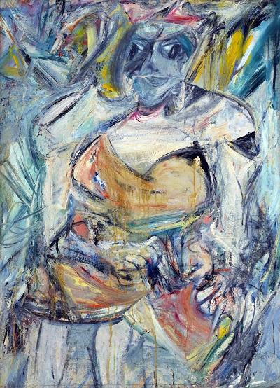 Willem de Kooning - Woman, IIWillem de Kooning - Woman, II