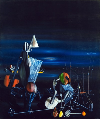 איב טנגי - לאט לכיוון צפון  Yves Tanguy - Slowly Toward the Northאיב טנגי - לאט לכיוון צפון  Yves Tanguy - Slowly Toward the North