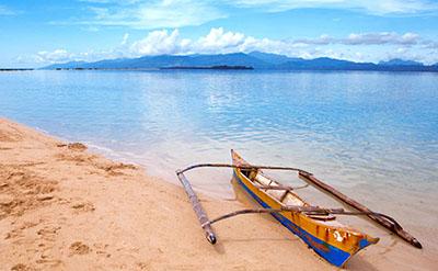 סירה ספינה ישנה סירה ישנה    _old-banca-boat-palawan_Old Banca Boat Snake Island Palawan