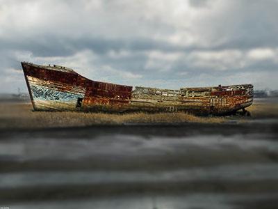 ספינה ישנהספינה ישנה סירה ישנה    _old-banca-boat-palawan_Old Banca Boat Snake Island Palawan