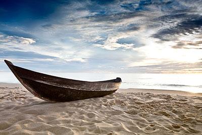 סירה על חוף סירות   סירה
