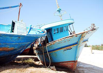 ספינותסירות  סירה  מעץ