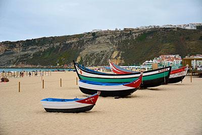 סירות על חוף - פורטוגלסירות  נמל