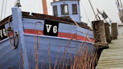 ספינת דייג - דנמרקסירות  נמל  -  סקנדינביה