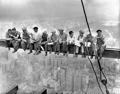 ניו יורק - גברים על קורה  Man on Griderגברים על קורה  Man on Grider