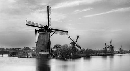 הולנד  - תחנת רוחהולנד  - תחנת רוח