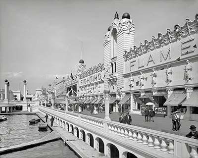 ניו יורק  1905 Coney Islandניו יורק  1905 Coney Island