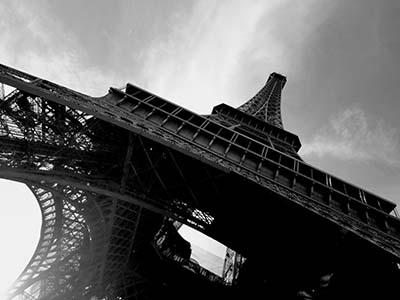 פריז אייפל  Eiffel Towerפריז אייפל   פאריז  _black-and-white-eiffel-tower