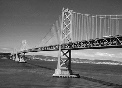 סן פרנסיסקו  - san fransisco - okland bridge san fransisco - okland bridge  -  סן פרנסיסקו  -   ארצות הברית