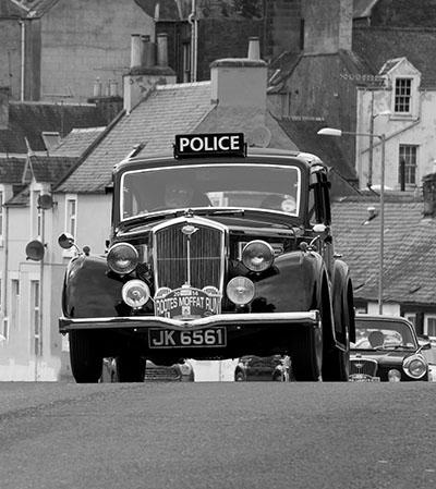מכונית משטרה מכונית משטרה  _Wolseley_14-60_police_car_