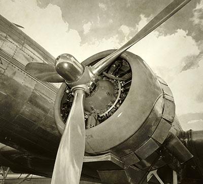 מטוס - בוכנהים