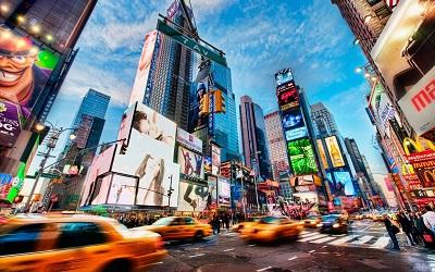 ניו יורק  New York Times  Square