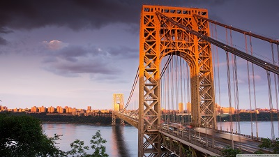 ניו יורק  New York George Washington Bridgeגשר ניו יורק  New York George Washington Bridge
