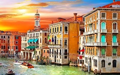 ונציה  שקיעה   Venice  sunsetונציה  שקיעה   Venice  sunset
