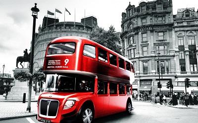 אוטובוס אדום לונדון  Red London Busאוטובוס אדום לונדון  Red London Bus