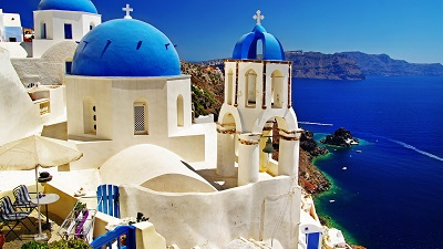 יוון סנטוריני  Santorini
