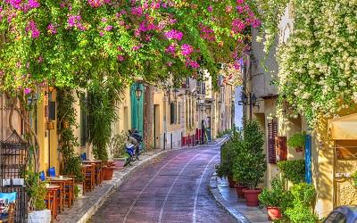 רחובות אתונה  streets of athensרחובות אתונה  streets of athens