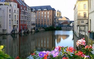 lorraine metz franceGP-CITY-344-lorraine_metz_france_house_river_canal