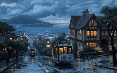 san_franciscos_GP-CITY-348-rain_bus_boat_san_francisco_california_usa_