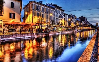 רחוב הנהר-bridge_river_cafes_light_architecture_landscape   רחוב הנהר
