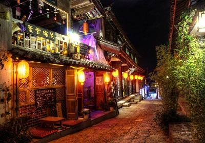לילה בסין-night_scene_at_lijiang  לילה בסין