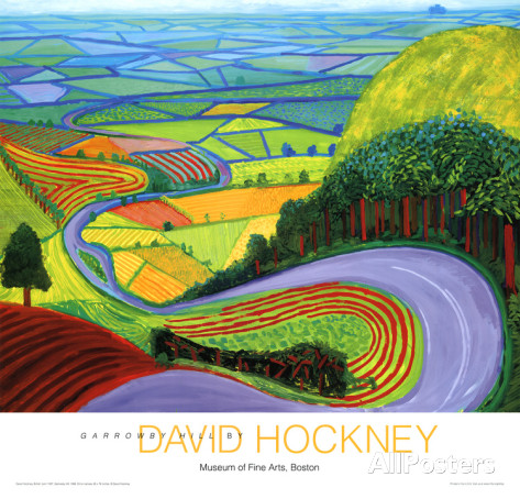 David Hockney - Garrowby HillDavid Hockney - Garrowby Hill