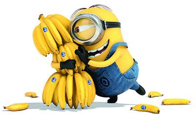 המיניונים minions  - בננות