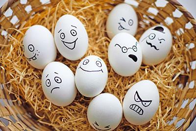 פני ביצים