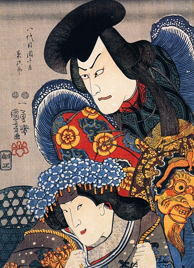 Utagawa_Kunisada, The_actorUtagawa_Kunisada, The_actor