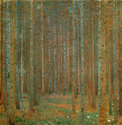 גוסטב קלימט - Pine ForestPine Forest